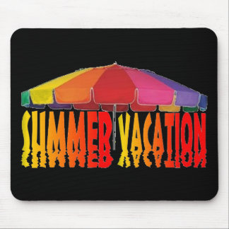 Summer Vacation Mouse Pad