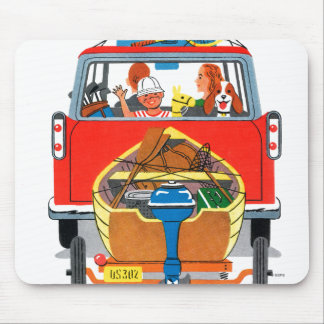 Summer Vacation Mouse Pads