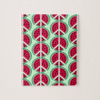 Summer Watermelon Jigsaw Puzzle