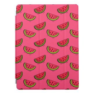Summer Watermelon on Pink Pattern iPad Pro Cover