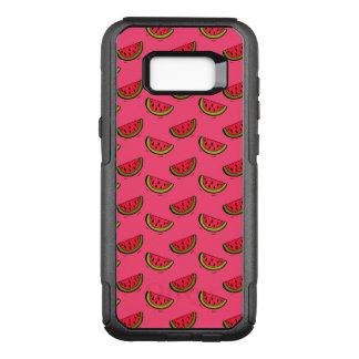 Summer Watermelon on Pink Pattern OtterBox Commuter Samsung Galaxy S8+ Case