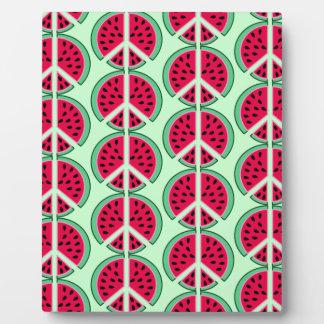 Summer Watermelon Plaque