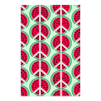 Summer Watermelon Stationery