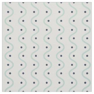 Summer Waves & Dots Fabric