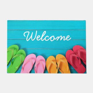 Summer Welcome Door Mat