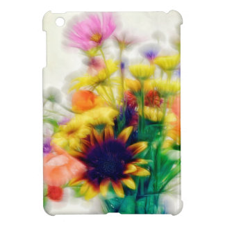 Summer Wildflower Bouquet Case For The iPad Mini
