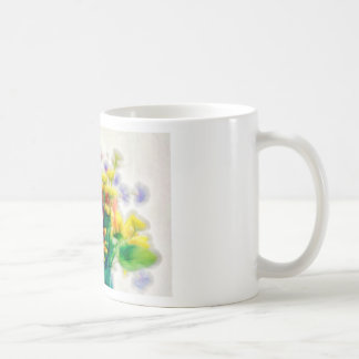 Summer Wildflower Bouquet Coffee Mug