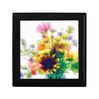 Summer Wildflower Bouquet Gift Box