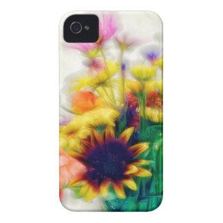 Summer Wildflower Bouquet iPhone 4 Case-Mate Case
