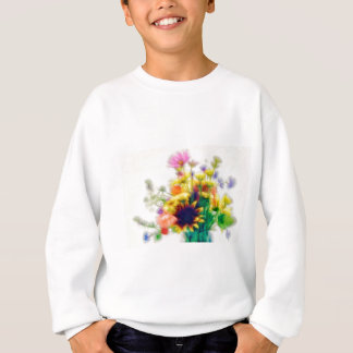 Summer Wildflower Bouquet Sweatshirt