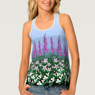 Summer Wildflowers Singlet