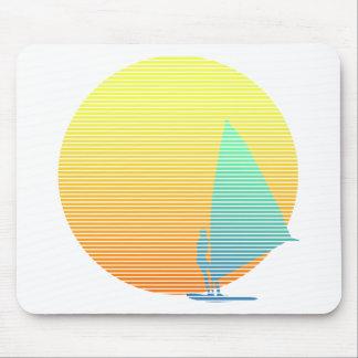 Summer Windsurfer Mousepad