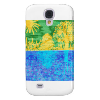 summer-winter galaxy s4 cover