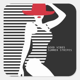 Summer Woman sticker