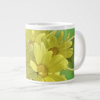 Summer Yellow Blossoms Jumbo Mug