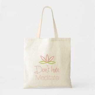 Summer Zen Meditate Budget Tote Bag