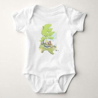 Summerbreeze (summer breeze) baby bodysuit