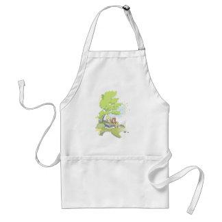 Summerbreeze (summer breeze) standard apron