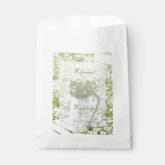 Summerfield Daisies Camomile Flower Wedding Favour Bag