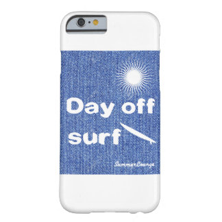 'SummerLounge'dayoff surf denim handle iPhone case