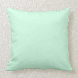 Summermint Pastel Green Mint for Summer Gazebo Cushion