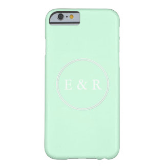 Summermint Pastel Green Mint Wedding Barely There iPhone 6 Case