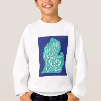 Summers Are Made In The Great Lakes - Apron Sweatshirt
