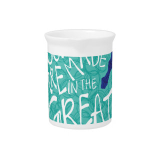 Summers Are Made In The Great Lakes - Blue Pitcher