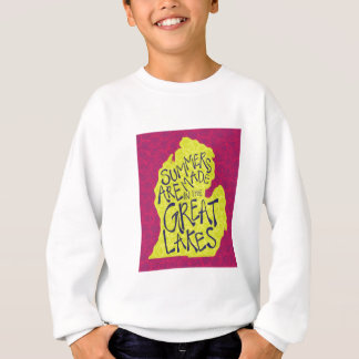 Summers Are Made In The Great Lakes - Kids! Sweatshirt