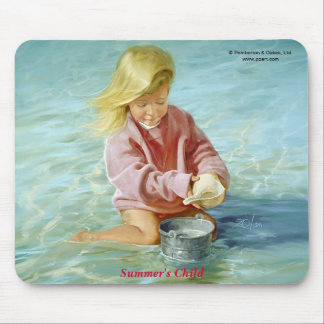 Summer's Child Mouse Pad