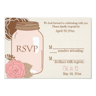 Summer's Dream RSVP insert 3.5x5 Paper Invitation Card