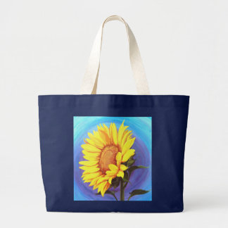 Summer's Energy 2 Large Tote Bag