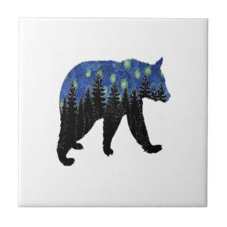Summers Eve stroll Small Square Tile