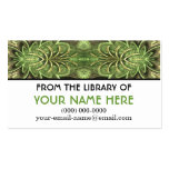 Summer's Hum Personalised Media Card Business Card Templates