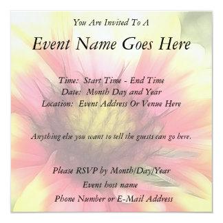 Summer's Star - The Blanket Flower Personalized Invite