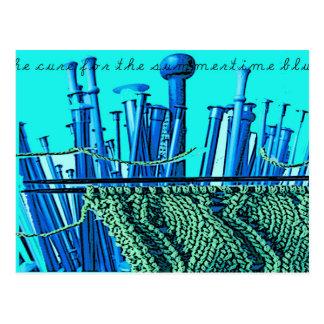 Summertime Blues Postcard