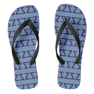Summertime Blues Thongs