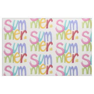 """Summertime Combed Cotton (56"""" width) Fabric"""