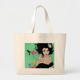 Summertime Fairy Canvas Bag