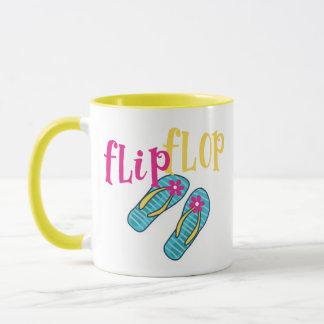 Summertime Flip Flop Mug