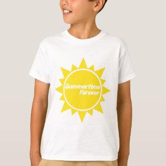 Summertime Forever Kids T-Shirt