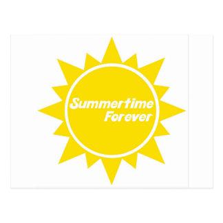Summertime Forever Postcard