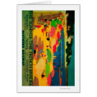 Summertime French Riviera Vintage PosterEurope Card