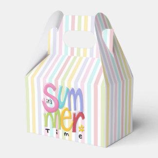 Summertime Gable Favor Box