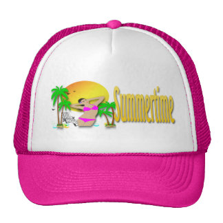 Summertime - Girl Hat