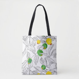 Summertime Guavas All-over Print Tote/Cross Body Tote Bag