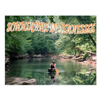 SUMMERTIME IN TENNESSEE POSTCARD