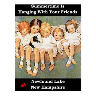 Summertime is Hanging With Your Friends Postcard