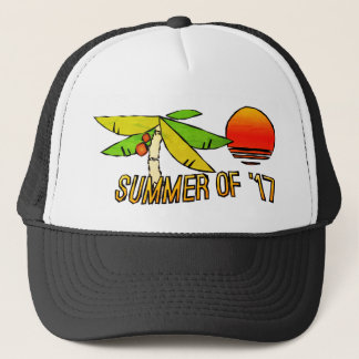 SummerTime  - Perfect Beach Sunset - Chunky Trucker Hat