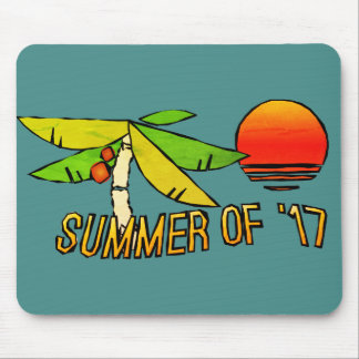 SummerTime - Perfect Beach Sunset Mouse Pad